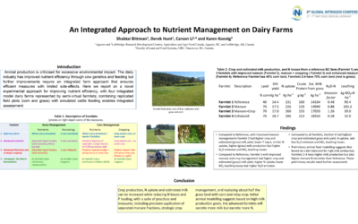 An Integrated Approach to Nutrient Management on Dairy Farms