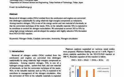 Catalytic Conversion of Nitrogen Oxide to Ammonia