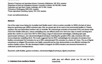 Long-term measurement of ammonia and nitrous oxide emissions