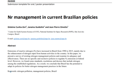 Nr management in current Brazilian policies