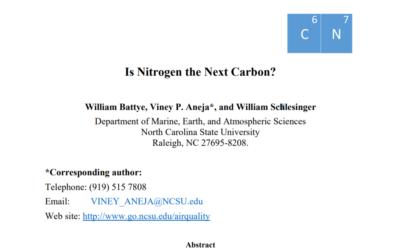 Is Nitrogen the Next Carbon?
